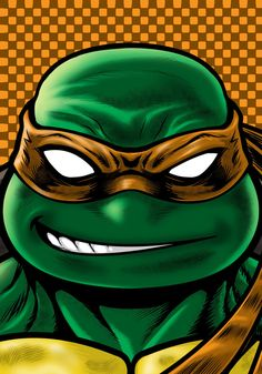 Mikey by Thuddleston on deviantART Ninja Turtles Art, Teenage Mutant Ninja Turtles, Teenage Turtles, Michelangelo, Arte Ninja, Sr1, Tmnt, Cartoon Characters, Cartoons