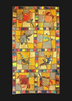 Quilt ARt - by Dot Russell ~ check out portfolio page ......