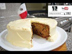 PASTEL DE ZANAHORIA | RECETA FACIL | CARROT CAKE | BETUN DE QUESO PHILADELPHIA - YouTube