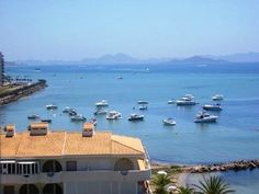 One Bedroom, Sleeps 4, Sea Views, Spectacular Swimming Pool.  6th floor apartment with south west views over the mar menor from the balcony that are truly wonderful and just a perfect place to sit relaxing with a glass of wine and watch the action on the waters of the Mar Menor during the day or in the evenings,
