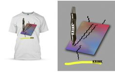 Krink Shirts by Covabunga , via Behance
