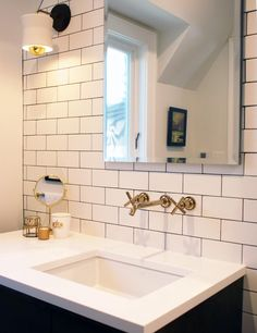 Before & After: A Light and Bright Tudor Remodel | Design*Sponge