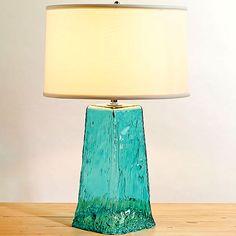 Glass Waterfall Lamp Design