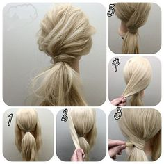 Hairstyle names, work hairstyles, pretty hairstyles, wedding hairstyles for Going Out Hairstyles, Work Hairstyles, Pretty Hairstyles, Wedding Hairstyles, Evening Hairstyles, Hairstyle Ideas, Blonde Hairstyles, Wedding Updo, Curly Ponytail Hairstyles