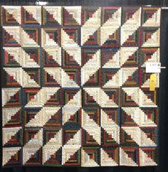 Design Wall Monday | Quilt design wall, Log cabin quilts and Quilt ...