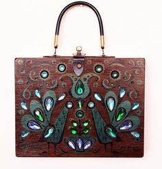 Enid Collins 1965 Pavan III box bag by niwotARTgallery on Etsy, $160.00