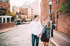 North End Boston Engagement-5 More