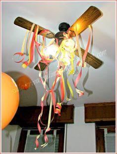 Fiamme di stelle filanti - festa a tema il pompiere Sam!