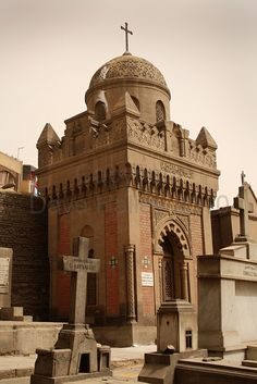 This cemetery in Coptic Cairo has some of the most beautiful crypts & ornamentation I have ever seen!
