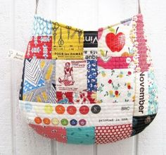 15  Quilt As You Go Bag and Pouch Tutorials