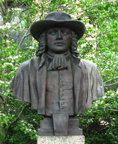 """Pennsylvania means """"Penn's woods."""" Quaker William Penn was granted the tract of land by King Charles II of England in 1681 as repayment of debt owed to Penn's father, Admiral William Penn. Originally, Penn suggested Sylvania (woodland) for his land."""