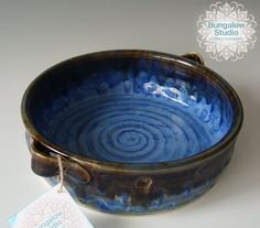 Ceramic Casserole in Handmade Ceramic Casserole by BungalowSPC
