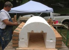 The Shiley Family Wood-Fired DIY Brick Pizza Oven in South Carolina - BrickWood Ovens