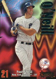 RARE 1998 SKYBOX THUNDER PAUL O'NEILL NEW YORK YANKEES MINT