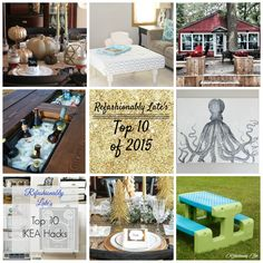 Refashionably Late's Top 10 DIY/Home Decor Posts of 2015! www.refashionablylate.com