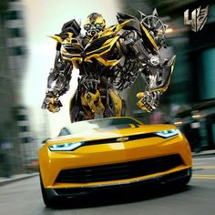 #Transformers: Age of Extinction made its way to the big screen. Who's going to watch this #Camaro in action?