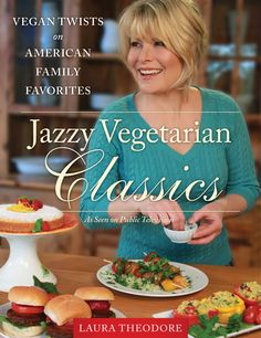 The cover of my new cookbook! It will be released in September 2013! Pre order here: http://www.amazon.com/Jazzy-Vegetarian-Classics-American-Favorites/dp/1937856933/ref=pd_sim_b_3