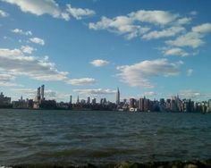 View of Manhattan from Brooklyn Bridge Park, Sept 2012