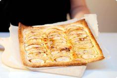 Tarta de manzana rápida sobre hojaldre con Thermomix | Velocidad Cuchara
