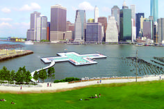 Gala at the Wythe Celebrates the World's First Water-Filtering Floating Pool