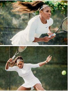 Serena Williams looking majestic