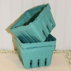 Farmers Market Berry Baskets 10 Party Favor Boxes by ThePartyFairy, $7.50