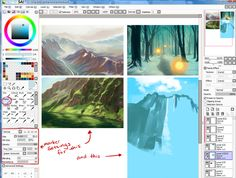 paint tool sai elemap untitled - Google Search