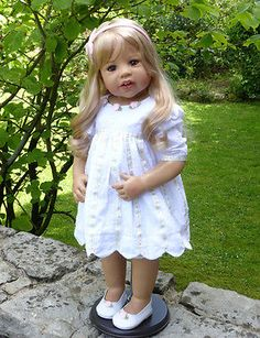 """Masterpiece * Sunday's Child * Monika Levenig 29"""" Blonde Vinyl  Doll PRE-ORDER"""