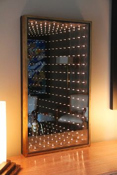 Authentic and Original 1970s Infinity Mirror at 1stdibs https://www.leddancefloor.info
