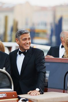 First photos from George Clooney's wedding are here!
