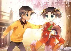 Heiji and Kazuha - Detective Conan (Case Closed). Heiji Hattori, Manga Anime, Anime Art, Manga Detective Conan, Detektif Conan, Fangirl, Kaito Kid, Magic Kaito, Case Closed