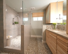 Vollinger residence - contemporary - bathroom - vancouver - Creative Spaciz