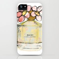 Daisy - Marc Jacob's Perfume Illustrated iPhone & iPod Case by Amy frances Illustration - $35.00