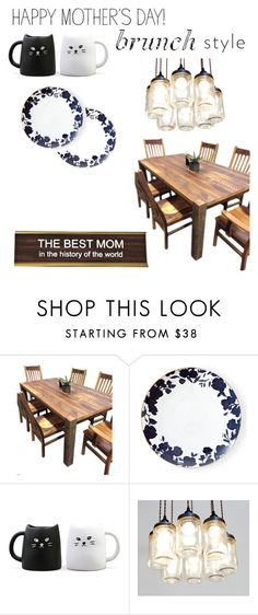 """Happy Mother's Day"" by thehipsternerd ❤ liked on Polyvore featuring interior, interiors, interior design, home, home decor, interior decorating, DutchCrafters, Ralph Lauren and MothersDayBrunch"