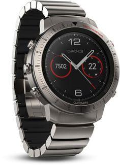 Garmin Fenix Chronos Titanium GPS Heart Rate Monitor Watch