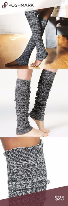 Free People Triple Creek Marled Leg Warmers Women's Free People Triple Creek Rib Knit Leg Warmers  Soft and super warm chunky knit and marled legwarmers. Perfect on chilly mornings getting to yoga class- comfy and stylish! Slightly stretchy fit. New with original tags. In the color Black Comb  One Size  SOLD-OUT EVERYWHERE! Free People Accessories Hosiery & Socks