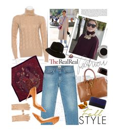 """Fall Style With The RealReal: Contest Entry"" by arysncouture ❤ liked on Polyvore featuring Loro Piana, Bottega Veneta, Hermès, Acne Studios, Christian Louboutin, Burberry, Yves Saint Laurent, CÉLINE and Bunn"