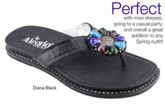 The perfect sandal for you...or for Mom! | Alegria Shoe Shop #MothersDay #Sandals #Summer2014