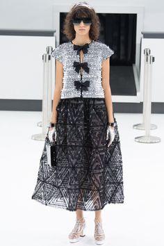 Chanel, Look #99 фактура юбки