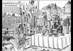 """The Blood Feast of the Voivode Dracula"" by David T Saint Albans (pen and ink) Dracula, Vlad El Empalador, Order Of The Dragon, Vlad The Impaler, From Here To Eternity, Dark Tattoo, Medieval Art, Mystery, Middle Ages"