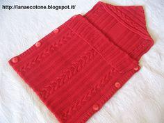 Lana e Cotone (maglia e uncinetto): Sacco nanna