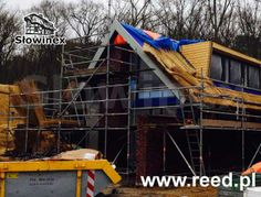 New construction in the Netherlands - residential holiday homes with thatched roofs proudly made by our craftsmen.
