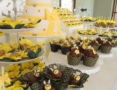 Festa Infantil Abelhinha - Lindas ideias para você se inspirar