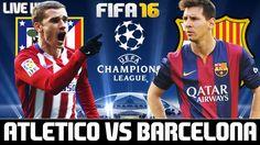 ATLÉTICO DE MADRID vs BARCELONA - UEFA CHAMPIONS LEAGUE…
