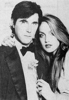 Bryan Ferry and Jerry Hall