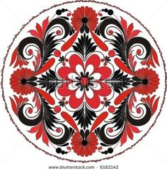 Image detail for -Russian Pattern. Colour & Strokes On Separate Layers. Stock Vector ...