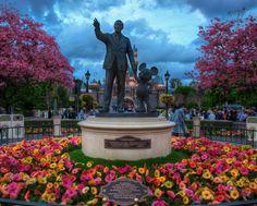 Disneyland - Walt and Mickey