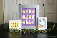 Looking for an easy and inexpensive Easter home decor craft? These Easter decorations certainly fit the bill. They're also completely darling!