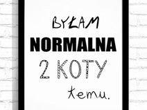 """Typografia A3 """"2 Koty temu"""""""