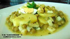 Patatas en salsa verde | Cocina